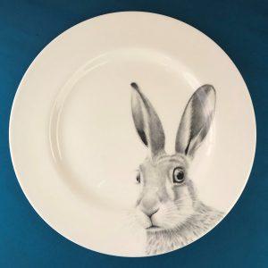 Dinner Hare Blue