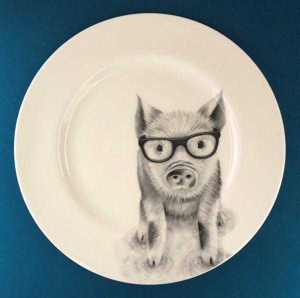Dinner Pig Blue