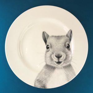 Dinner Squirrel Blue