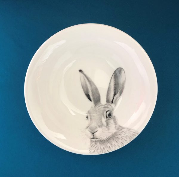 Hare Bowl Blue