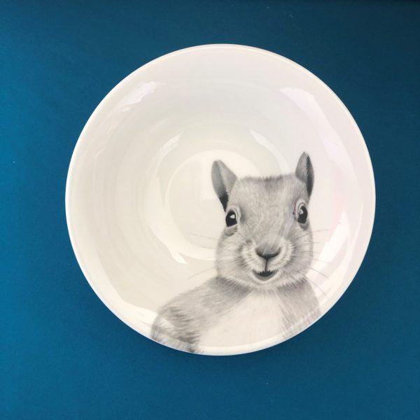 Squirrel Bowl Blue