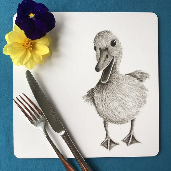 Duckling Square Placemat