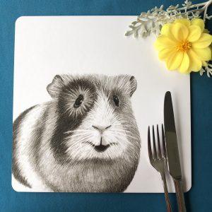 Guinea Pig Square Placemat