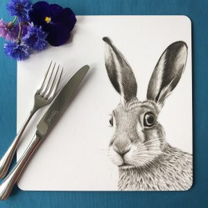 Hare Square Placemat