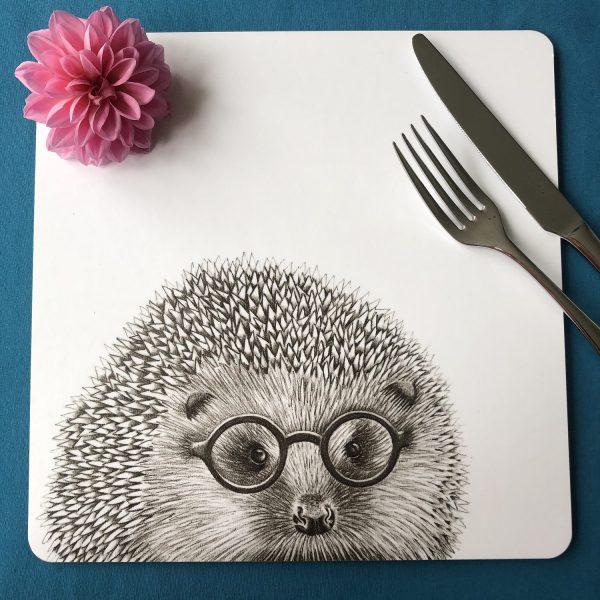 Hedgehog Square Placemat