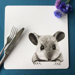 Mouse Square Placemat