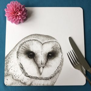 Owl Square Placemat