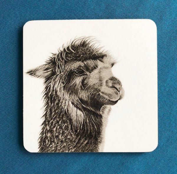 Alpaca Coaster